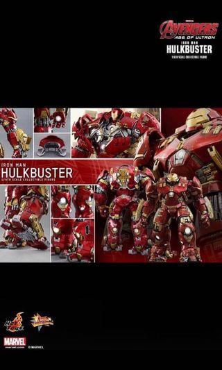 MMS 285 - Hot Toys Hulkbuster 1/6th Avengers AOU - BNIB MISB