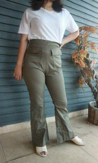Coup Belle Green Army Pants