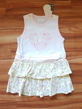 DRESS FLOWER TWINSBABY