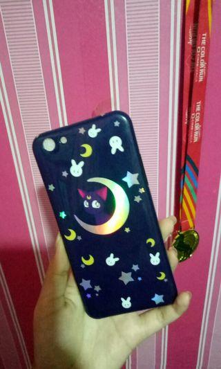Case oppo F3 Hologram Mooncat