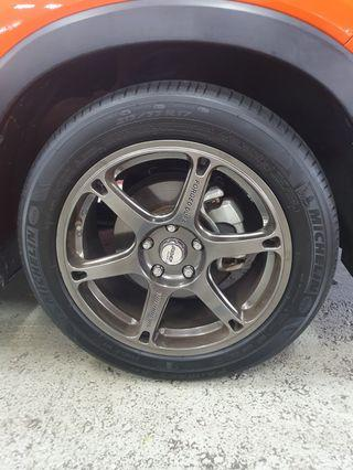 Forged Rims With Tyres (Vezel)