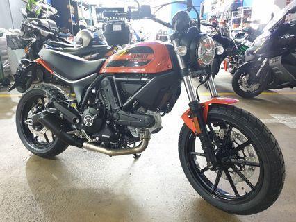 Ducati SCR 62 (400 cc) scrambler