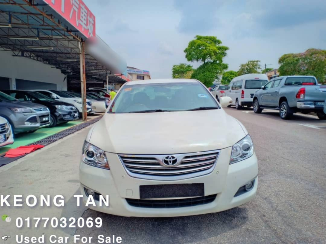 2007TH🚘TOYOTA CAMRY 2.4AT V SPEC JohorPlate🎉Leather Seat/DVD Player/Good Condition💲Rm31,500 Only‼ Lowest Price InJB 🎉📲0177032069 Keong‼🤗