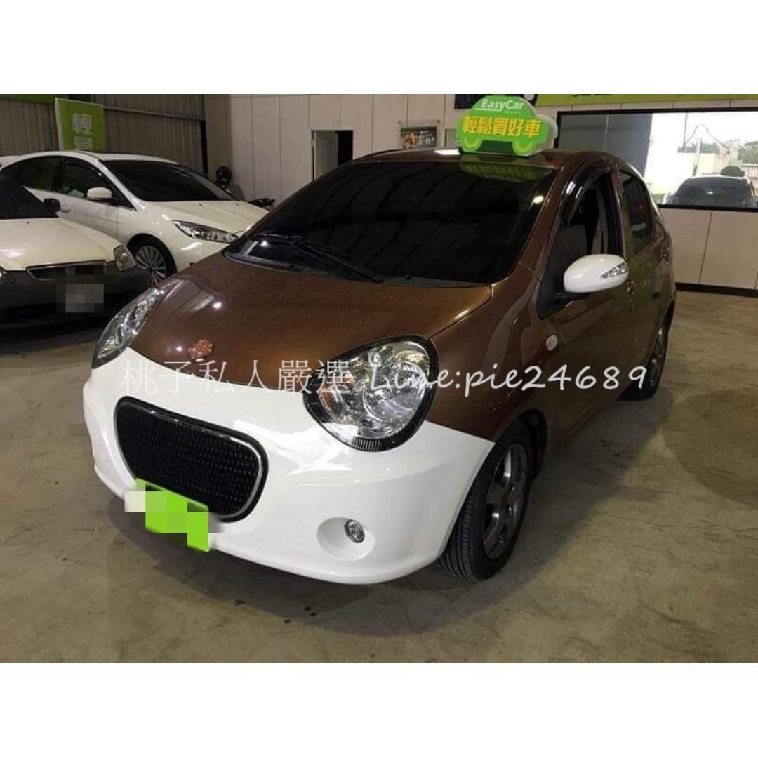 2011年 M'car 1.5 撞色 / 可愛的熊貓車🐼