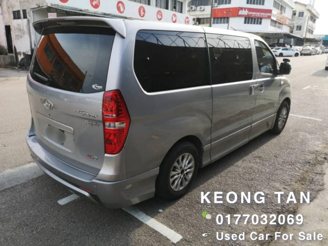 2013TH🚘HYUNDAI STAREX 2.5AT TURBO ROYAL🎉Johor Plate💰Cash OfferPrice💲Rm60,500 Only‼ Lowest Price InJB 🎉📲0177032069 Keong‼🤗