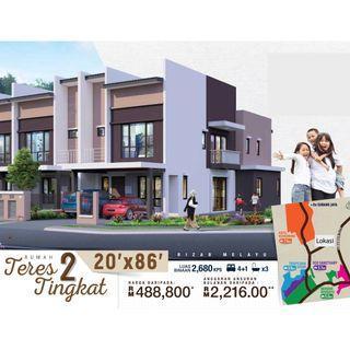 New 2 Storey Terrace [20'x86'] Seksyen 29 Shah Alam