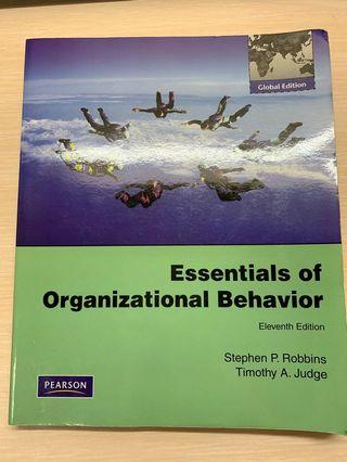 Essentials of Organization Behavior