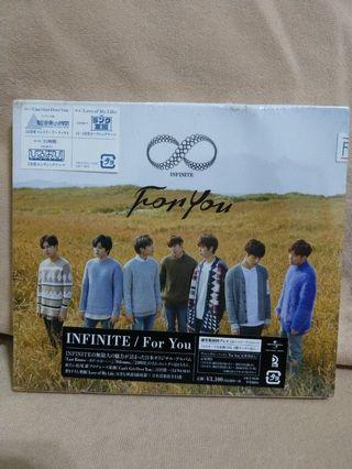 (Free Shipping) INFINITE FOR YOU JAPANESE ALBUM