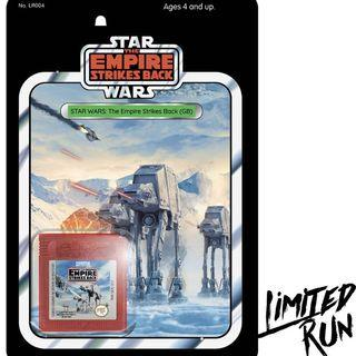 Limited Run Star Wars: The Empire Strikes Back Gameboy Classic Edition