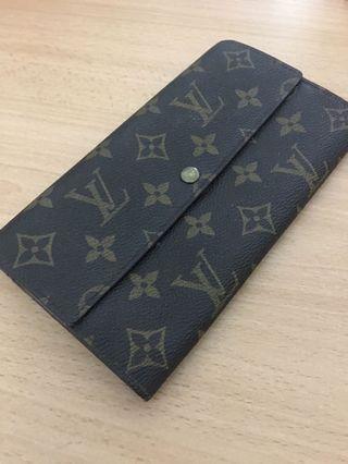 Authentic Louis Vuitton Long purse Wallet