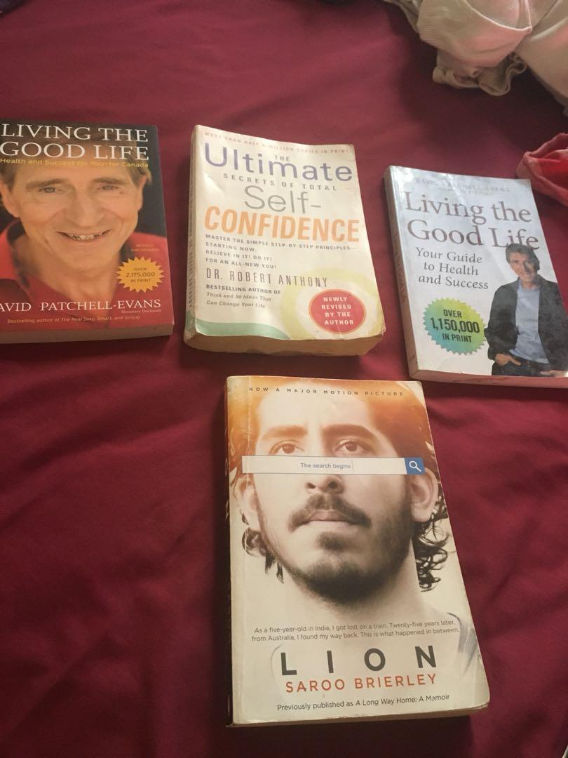4 books for sale - all have been read and are amazing !