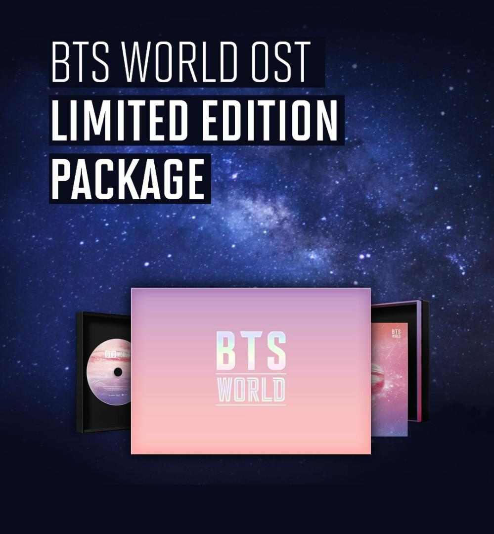 [ Direct Shipping ] BTS WORLD OST LIMITED EDITION PACKAGE