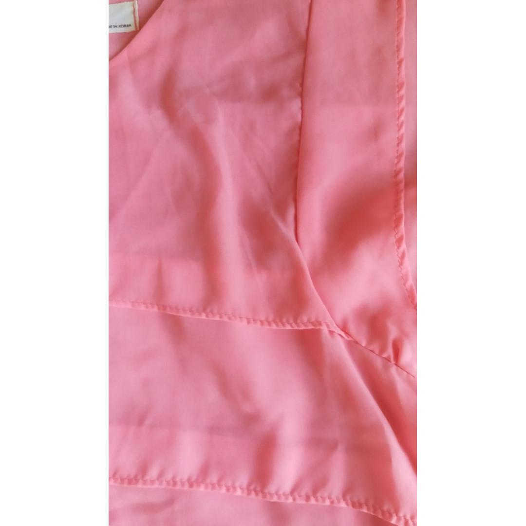 韓國超靚粉紅色上衣