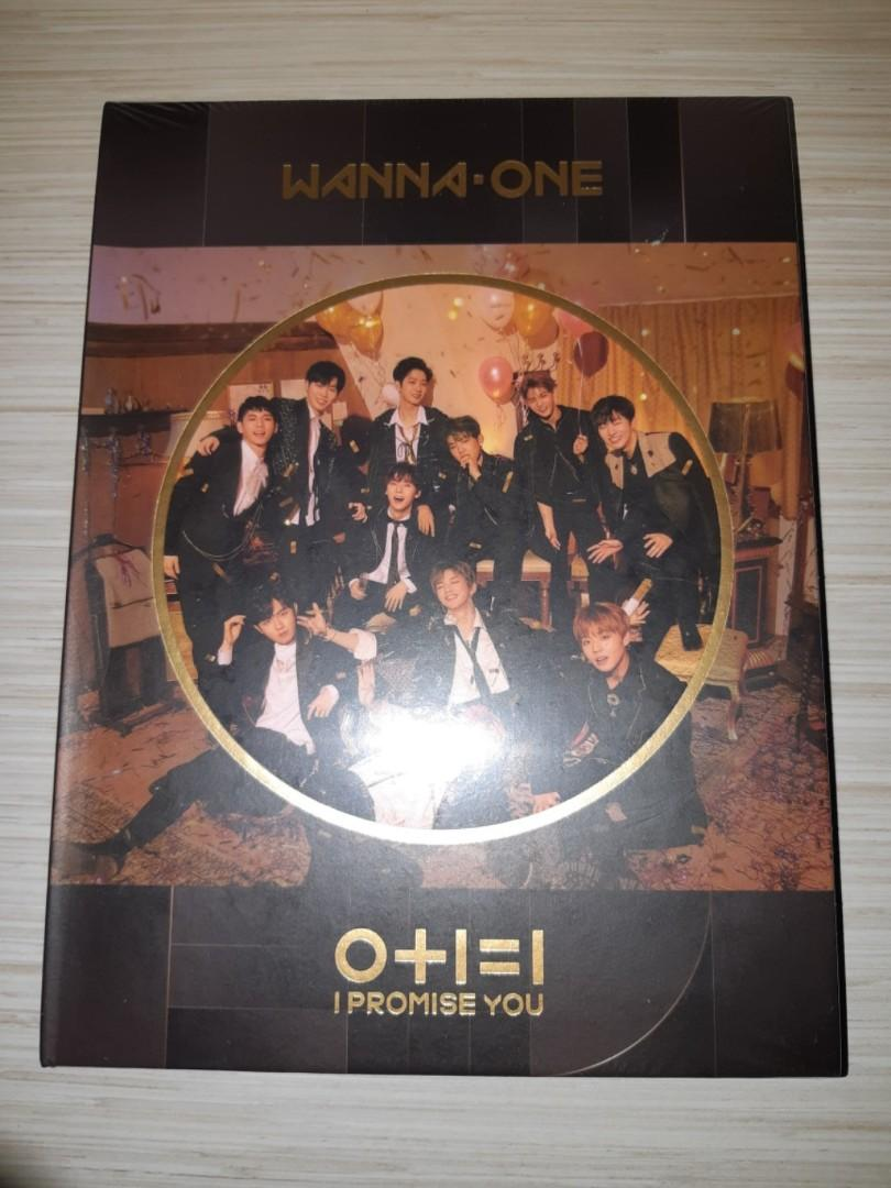 [ NEW,SEALED ] WANNA ONE: I PROMISE YOU ( NIGHT VERS. )