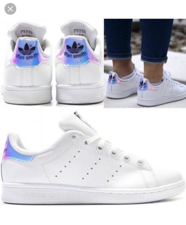 cheap for discount 061b5 1341e Adidas Stan Smith *Iridescent*, Women's Fashion, Shoes ...