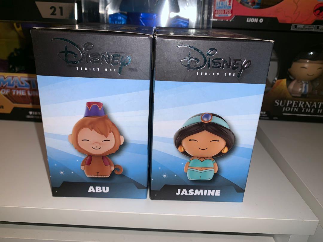 Aladdin Jasmine and Abu Dorbz Bundle Walmart Exclusive Figures
