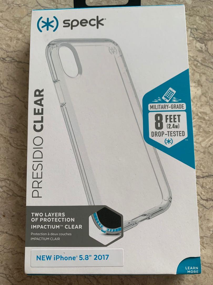 #AlternateReality Presidio Clear case for iPhone X/Xs