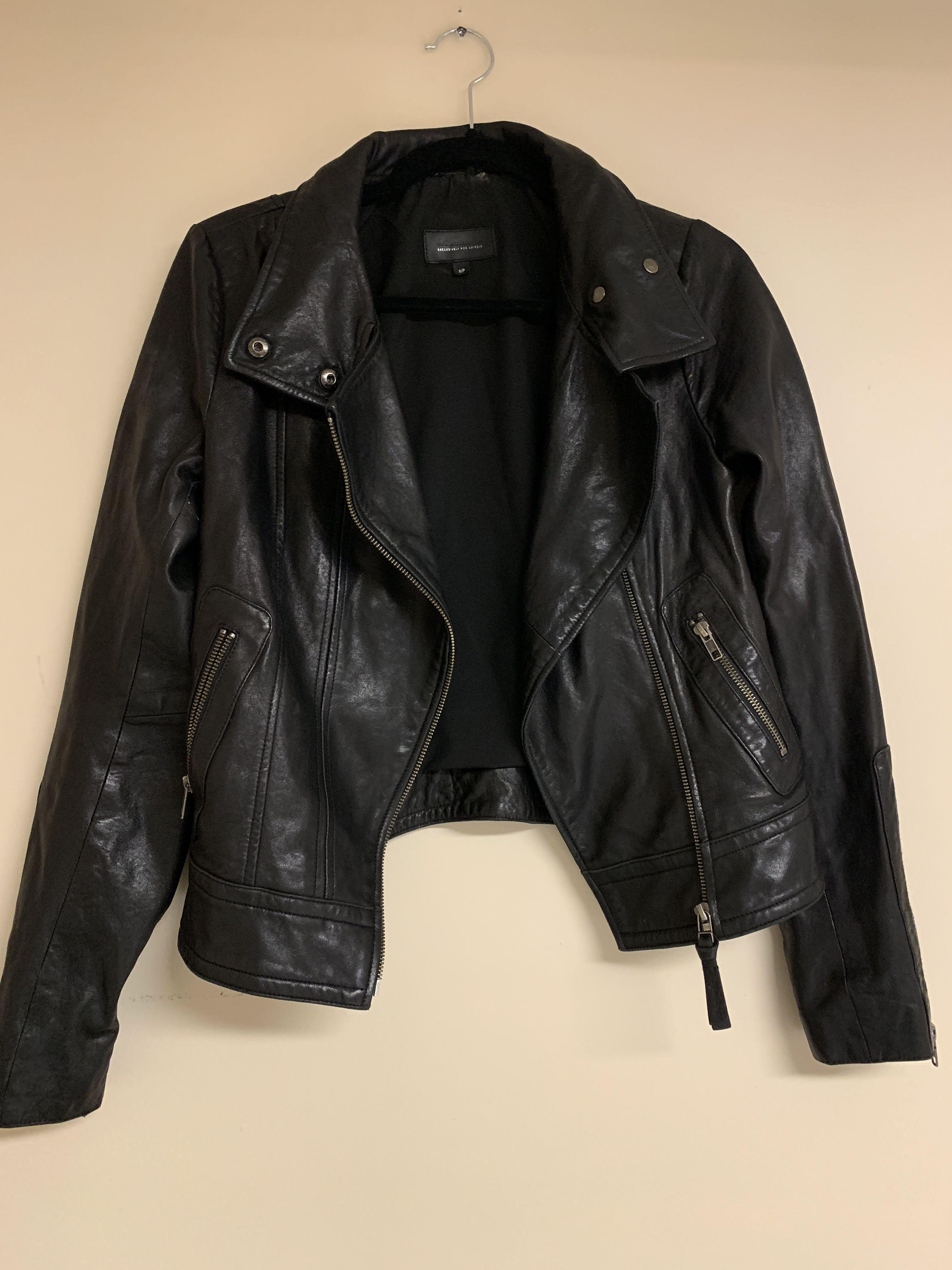 Aritzia X Mackage Kenya Leather Jacket