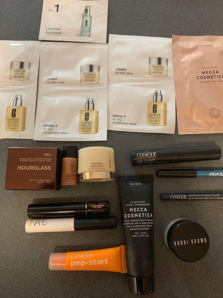 Beauty pack ALL NEW NEVER USED (some are sample sizes)