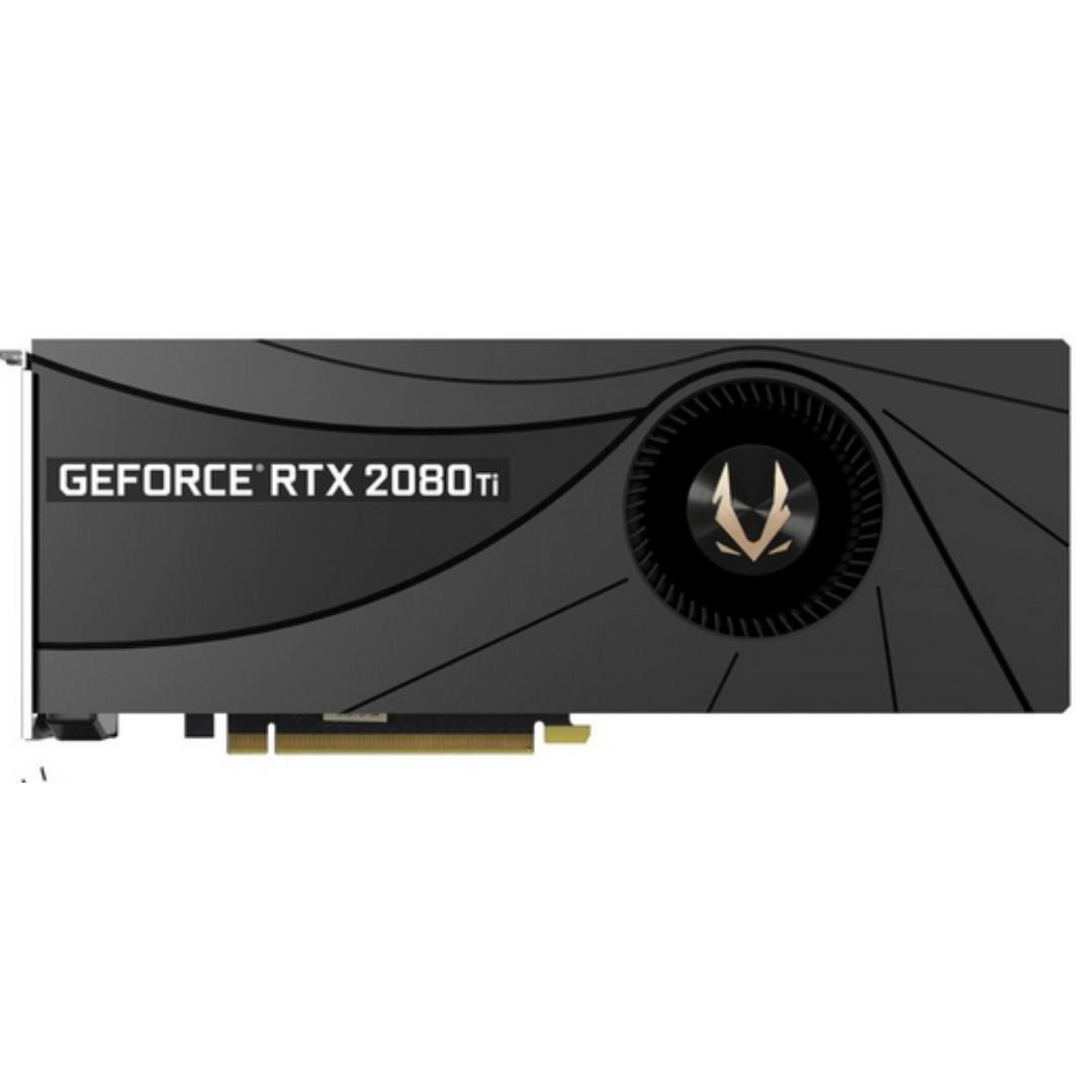 Brand New Zotac Rtx 2080ti Blower Edition Bulk Pack Electronics Computer Parts Accessories On Carousell