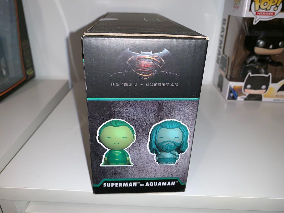 BVS Superman and Aquaman 2-pack Dorbz Legion of Collectors Exclusive