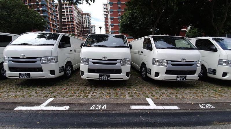 Cheap and NEW rental Van