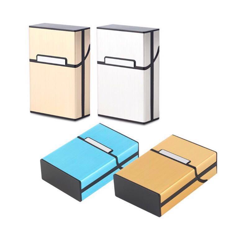 Cigarette Box Aluminum Case Holder
