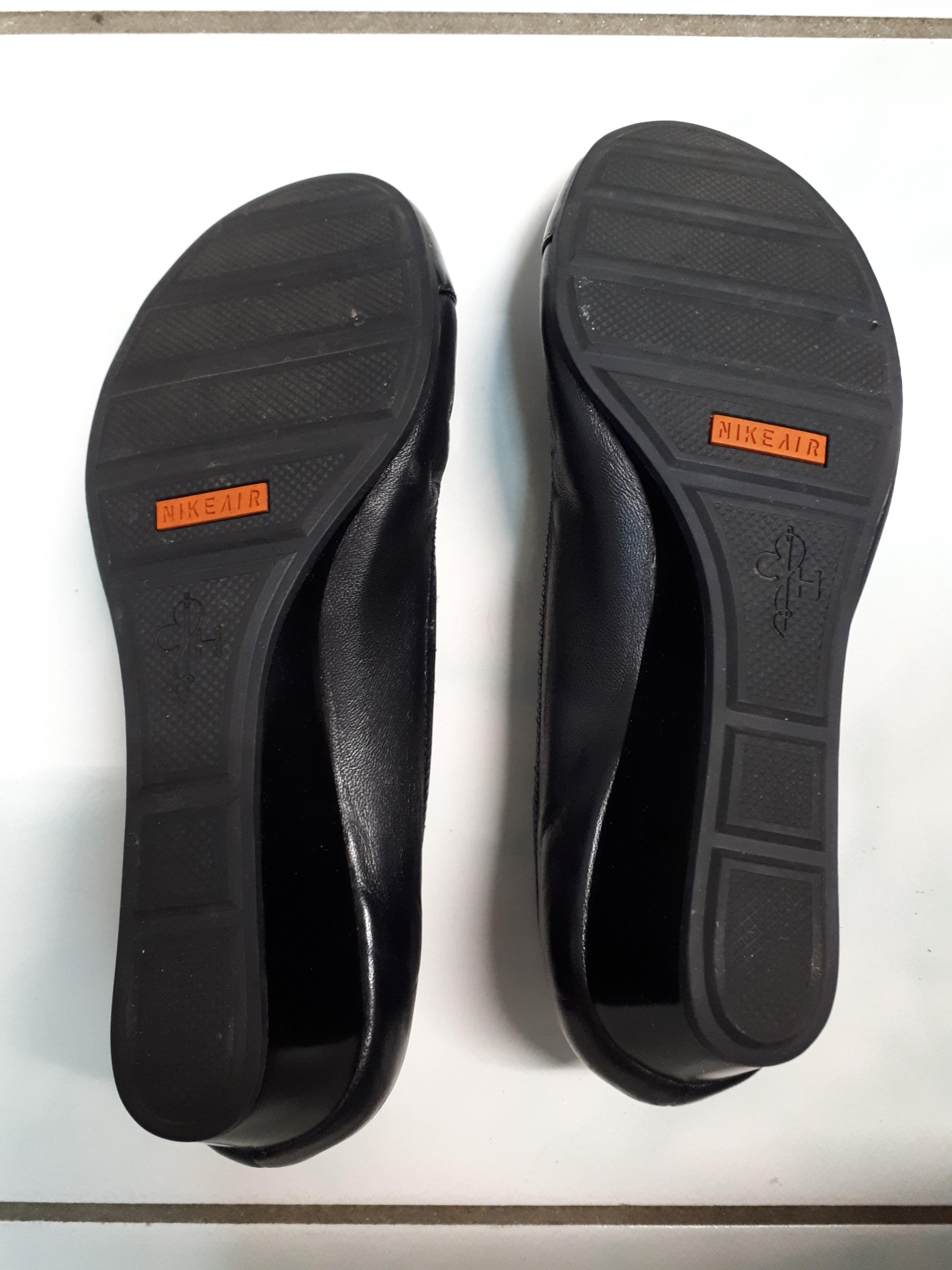 Cole Haan - Nike Air | Slip On Round Toe Wedge Pumps