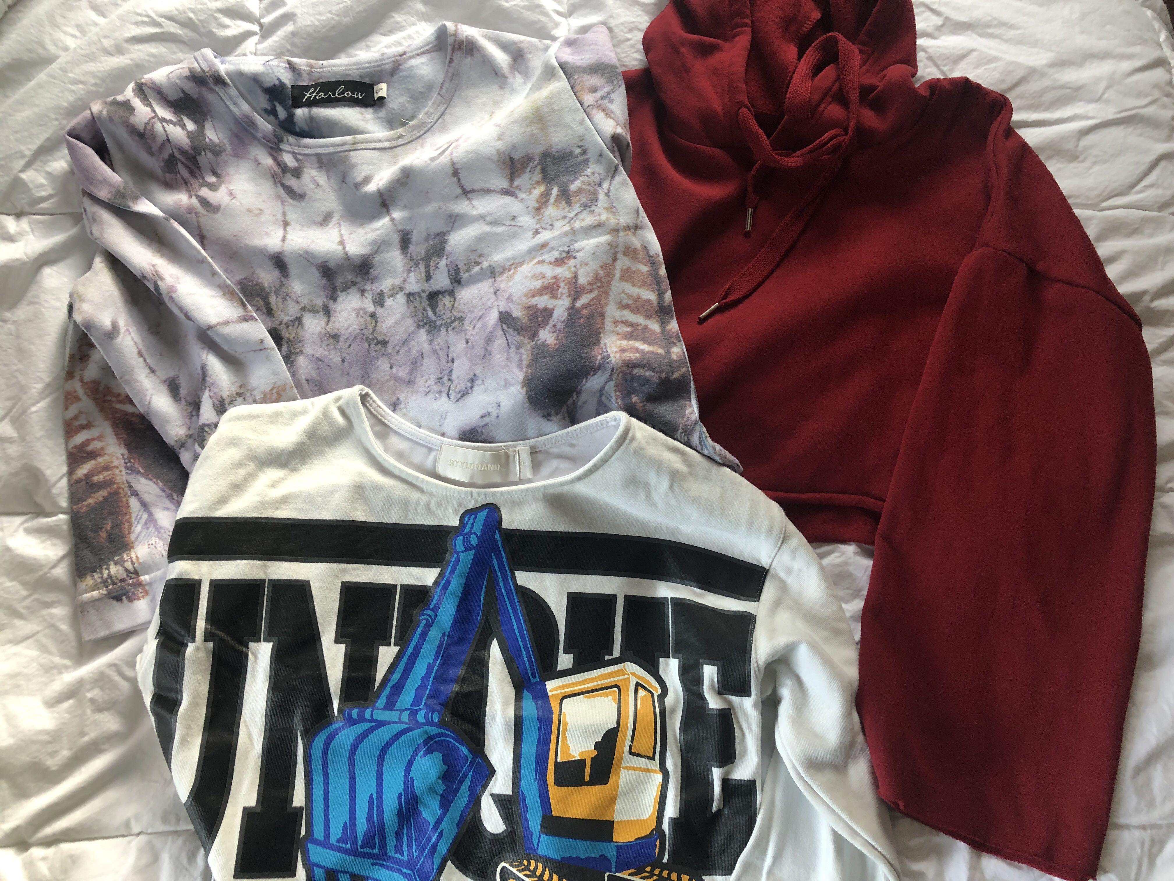 Cropped sweater bundle - Stylenanda, Harlow (Boathouse), Streetwear Society