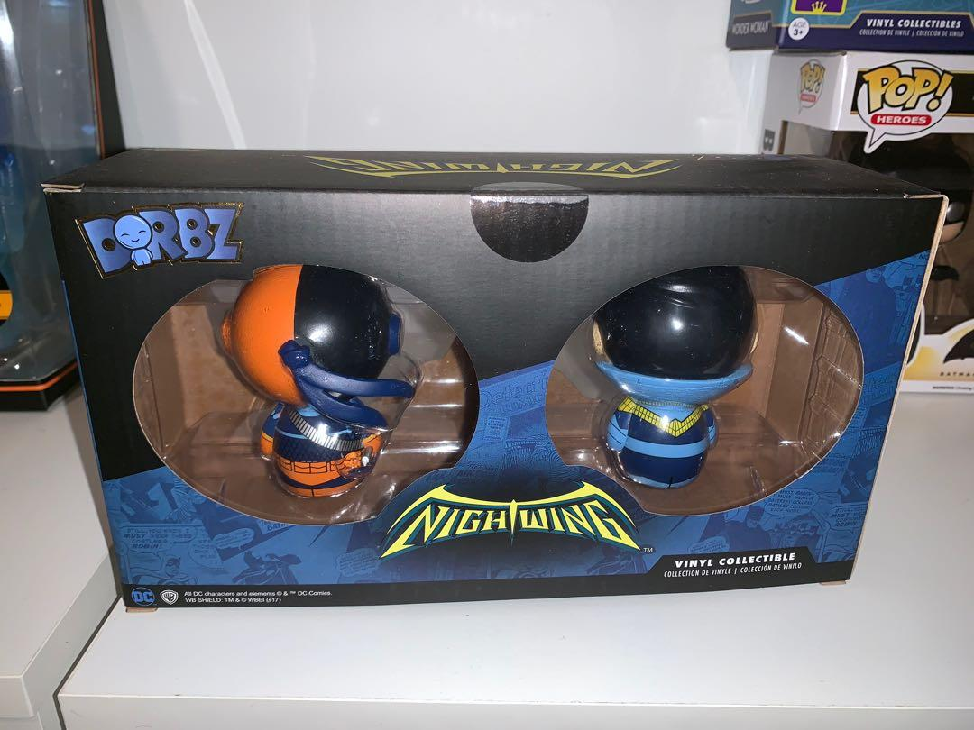 DC Nightwing and Deathstroke 2-pack Dorbz SDCC 2017 Limited 1500 pieces