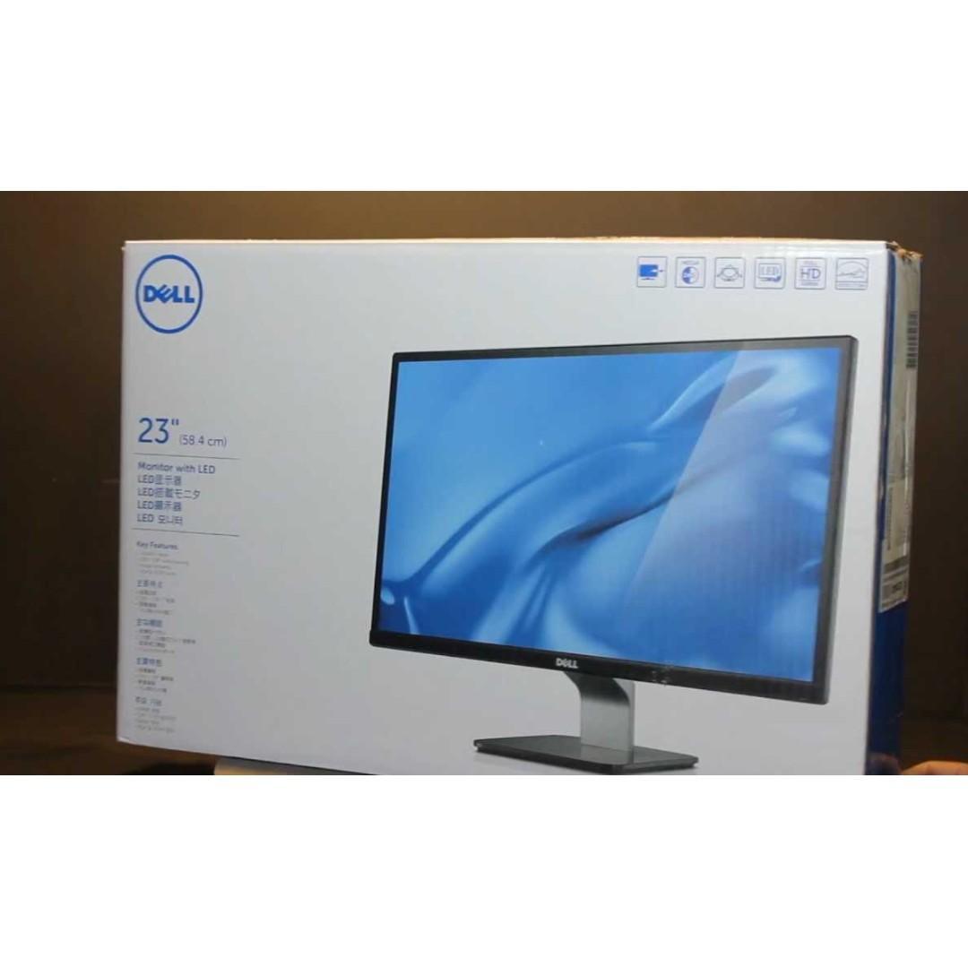 Dell 2340L 1080P IPS Monitor Screen 23