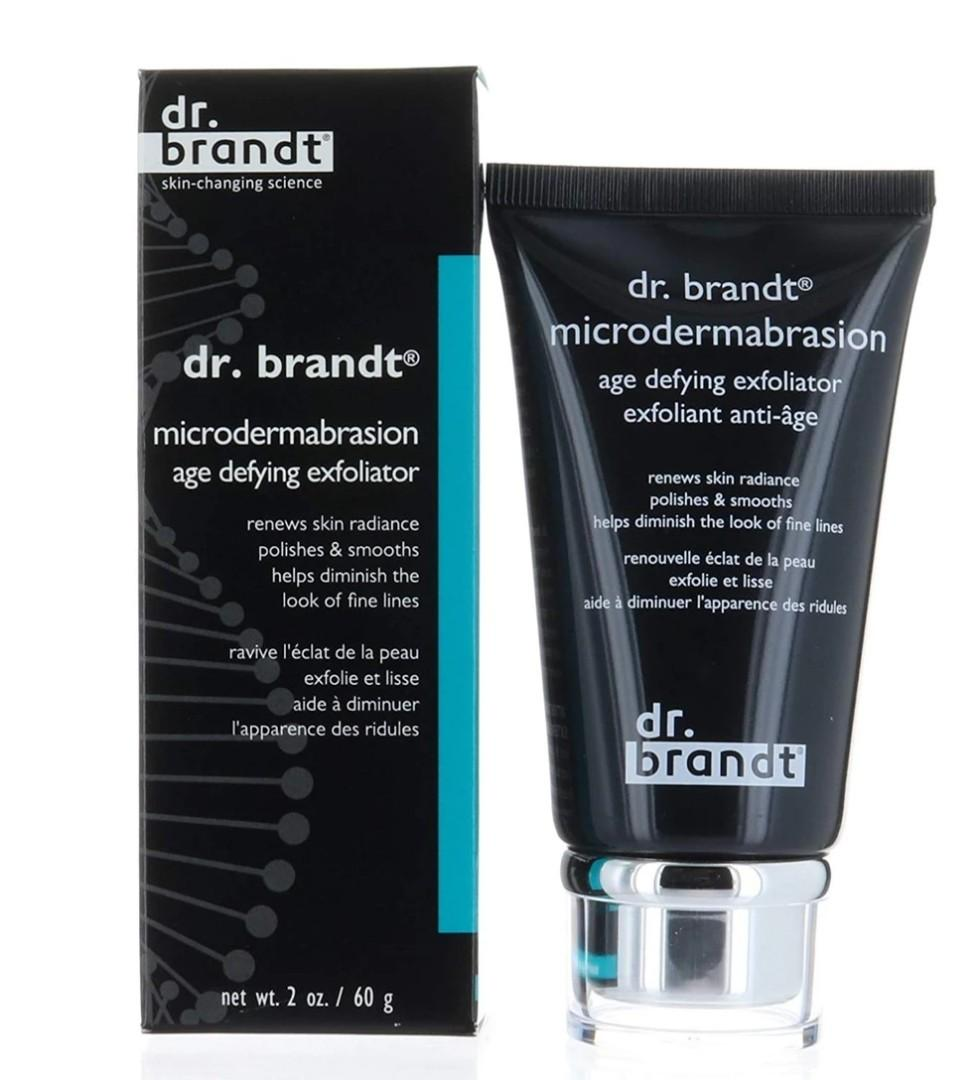 Dr. Brandt Microdermabrasion, age defying exfoliator