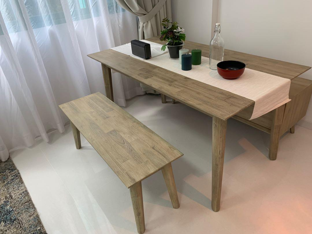 Flawless Dining Table Nook And Cranny Furniture Tables Chairs On Carousell