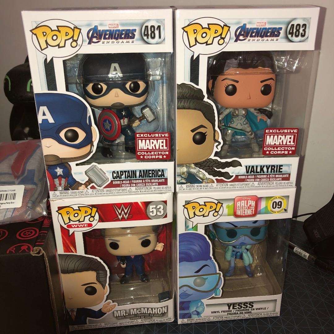 Funko Pop Collection Avengers Endgame Marvel Collector Corps