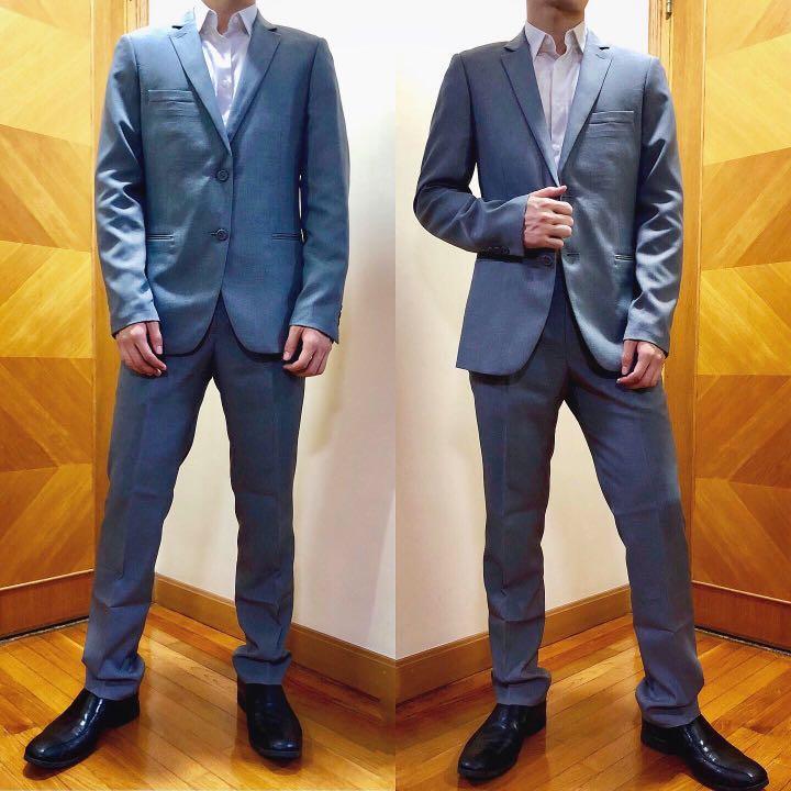 G2000 西裝set (grey) #OOTDForMen