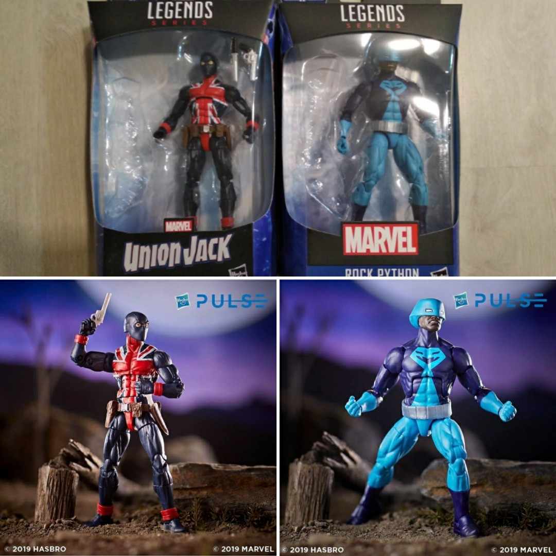Avengers Endgame Union Jack IN STOCK Marvel Legends