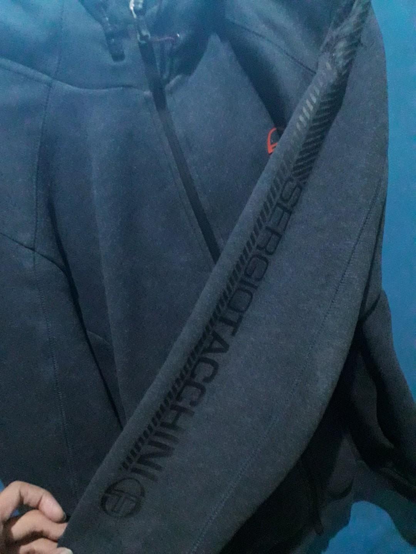 Jacket Zip Hoodie Sergio Tacchini softshell fleece
