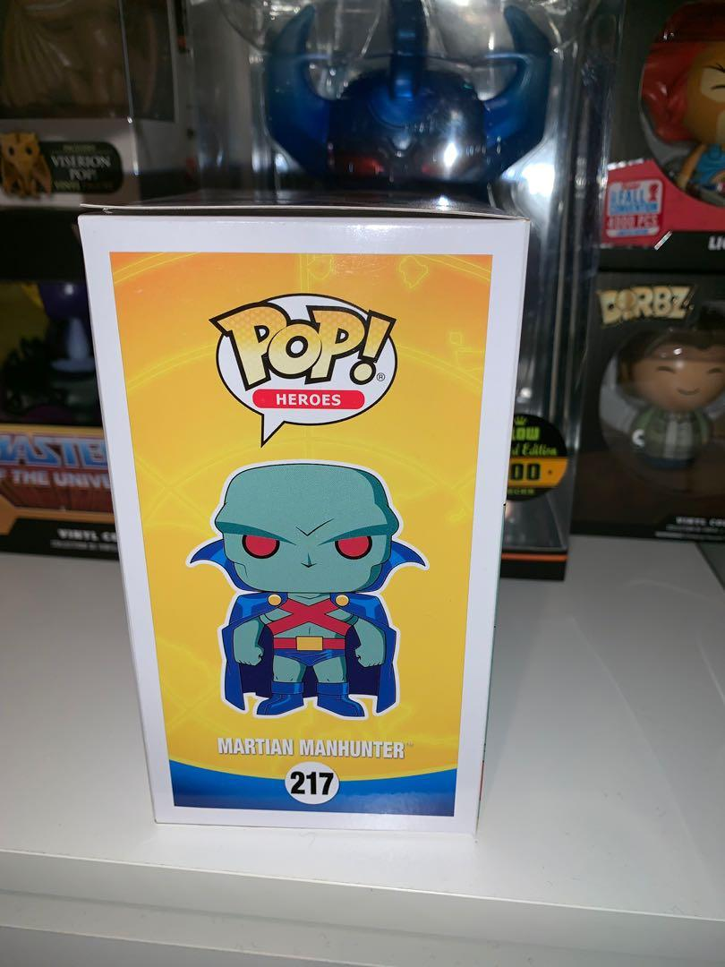 Justice league unlimited Martian Manhunter Pop Vinyl Figure