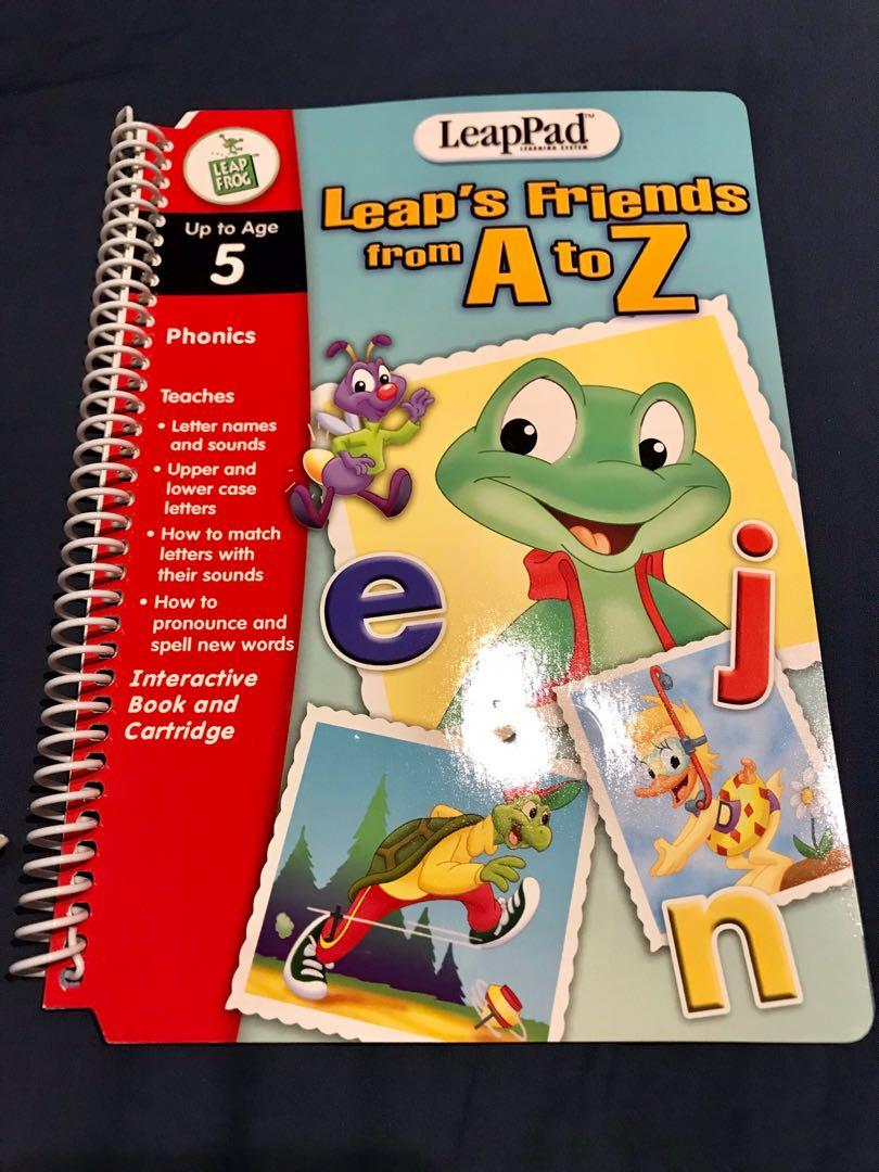 LeapFrog LeapPad Learning System - Leap's Friends from A to Z Interactive Book, up to age 5