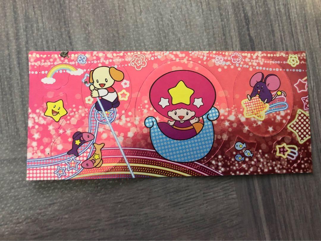 Meiji Twinkle Surprise Chocolate Eggs Sticker Sheet Collection #PJ