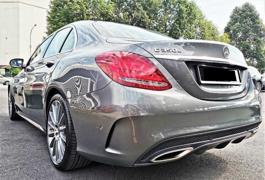 Mercedes Benz C350 e 2.0 AMG under warranty low mileage 11,000km only