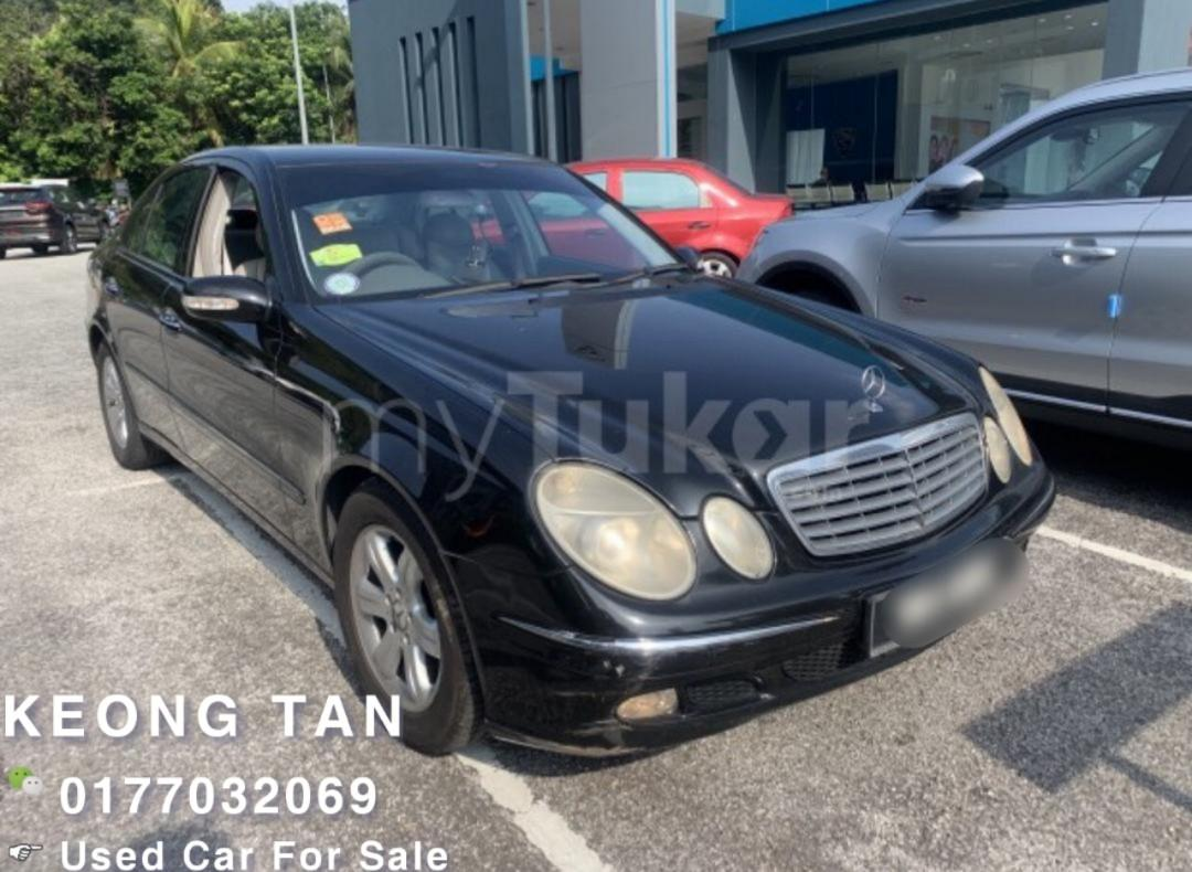 MERCEDES BENZ E240 2.6AT AVANTGARDE 2002TH Cash OfferPrice Rm21,500 Only‼💰Jual Cash Shj‼ Lowest Price InJB 🎉📲 Keong‼🤗