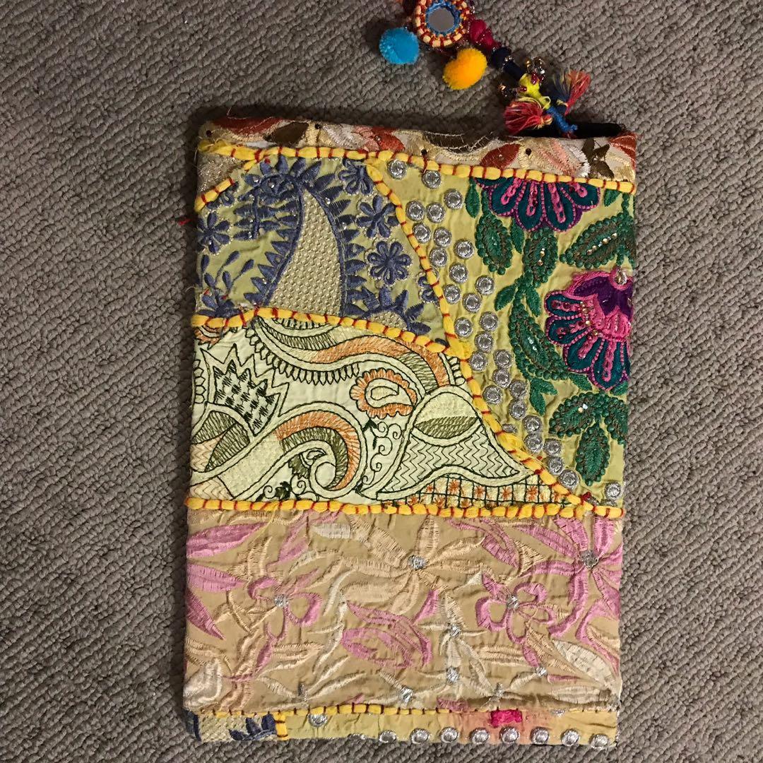 Oopsa Daizee handmade boho themed laptop iPad clutch