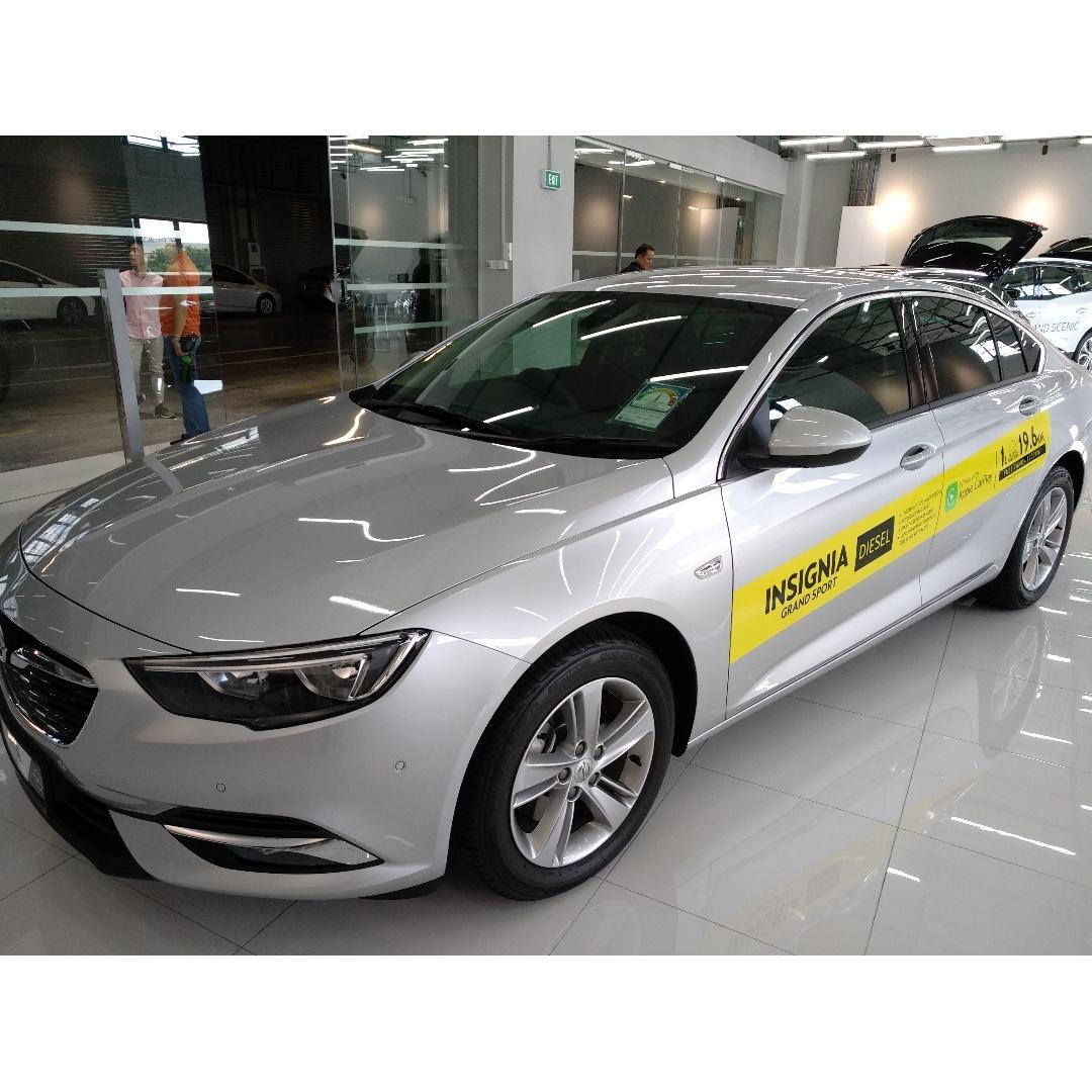 Opel Insignia 1.6 Diesel with Gojek Rebate - Superb fuel economy, comfortable continental drive!!!