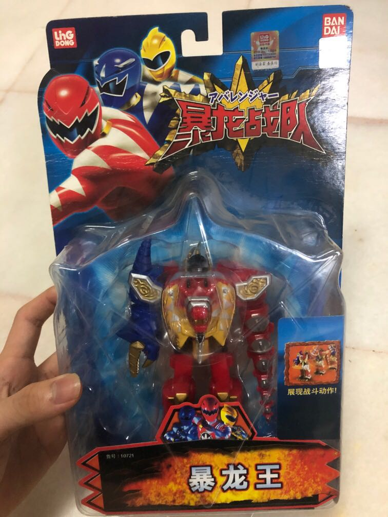 Power Rangers Dino Thunder Megazord Limited Edition Toys Games Other Toys On Carousell