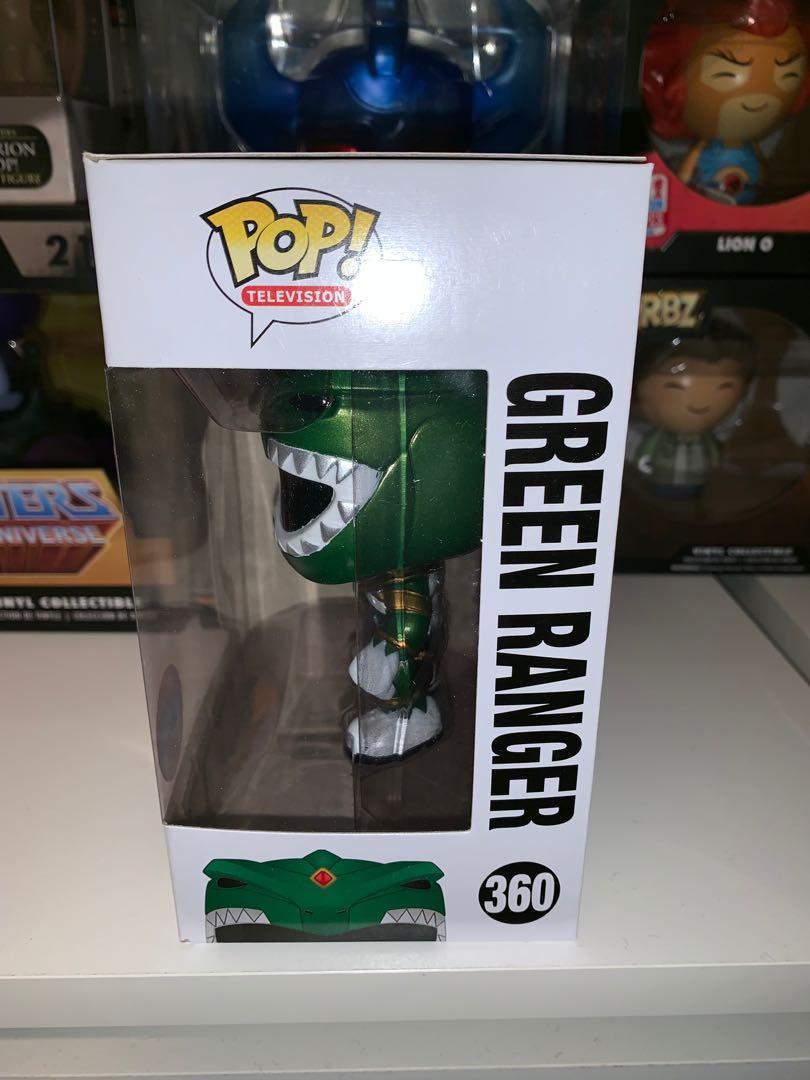 Power Rangers Green Ranger Metallic NYCC 2016 Pop Vinyl Figure
