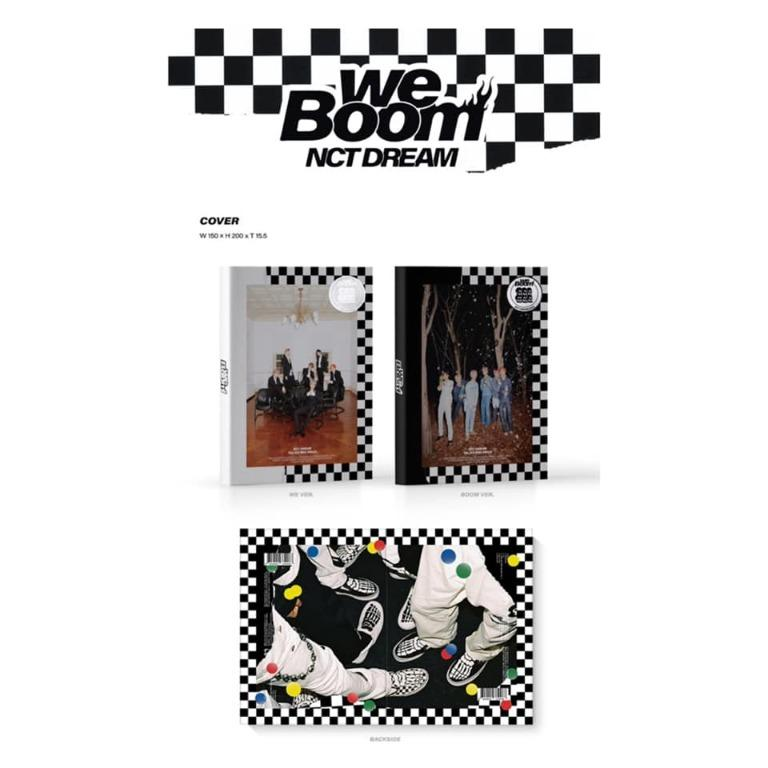 [Pre-order] NCT DREAM (3RD MINI ALBUM 미니앨범)  - WE BOOM (WE ver.    BOOM ver.)