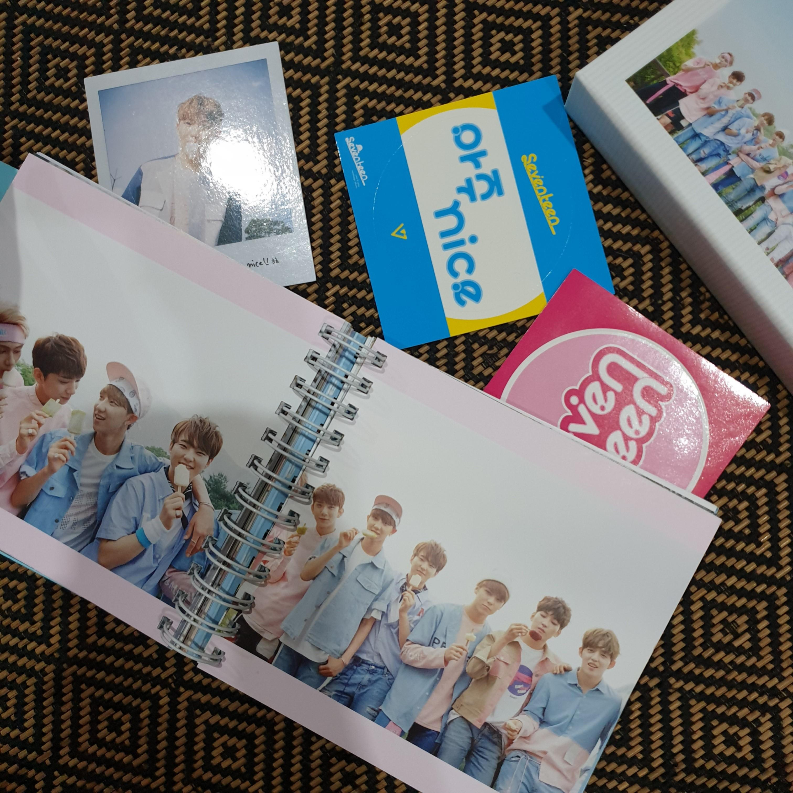 Seventeen Love & Letter Repackaged Album Normal Edition