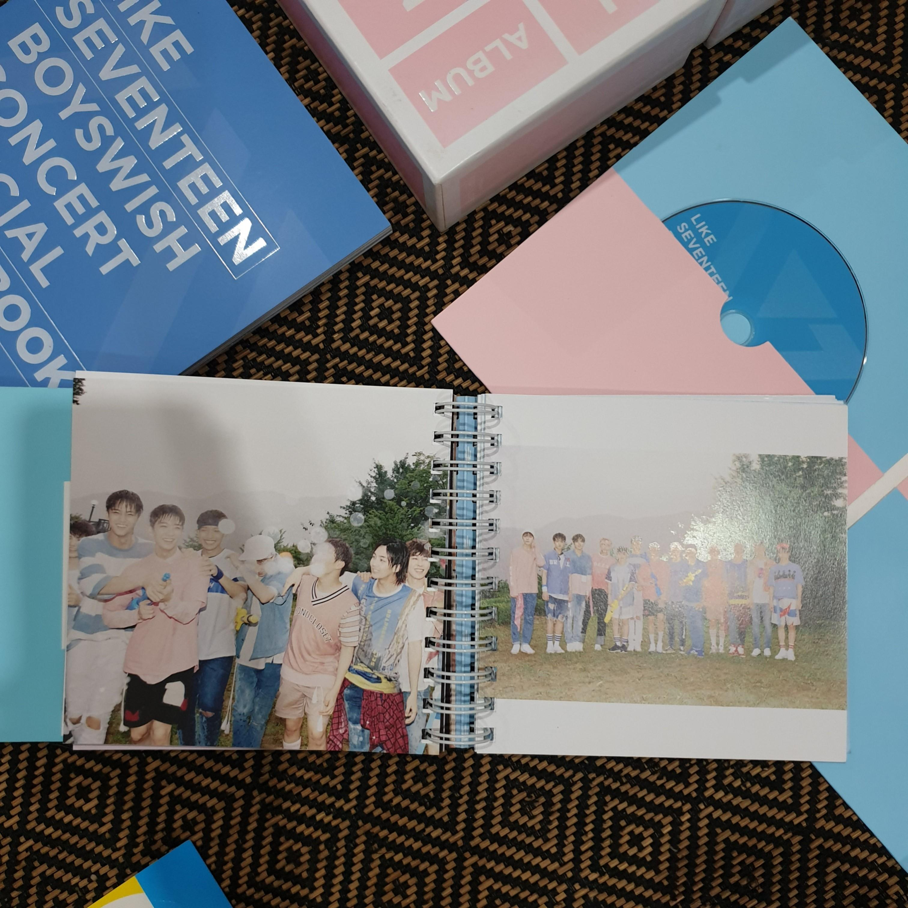 Seventeen Love & Letter Repackaged Album Special Edition