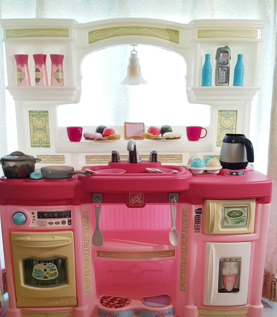 Step2 Just Like Home Rise And Shine Kitchen Pink Toys Games Others On Carousell